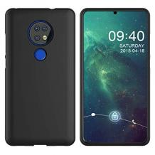 Силиконов калъф / гръб / TPU за Nokia 6.2 - черен / мат