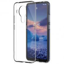 Силиконов калъф / гръб / TPU за Nokia 5.4 - прозрачен