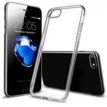 Луксозен силиконов калъф / гръб / TPU 2.0mm за Apple iPhone 7 / iPhone 8 - прозрачен