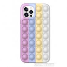"""Силиконов калъф / гръб / TPU 3D Rainbow POP за Apple iPhone 11 Pro 5.8"""" - art 3"""