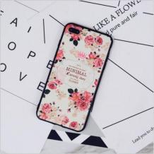 Силиконов калъф / гръб / TPU за Xiaomi Mi 9T - цветя / Minimal