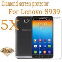Скрийн протектор / Screen Protector Silver Diamond за дисплей на Lenovo S939