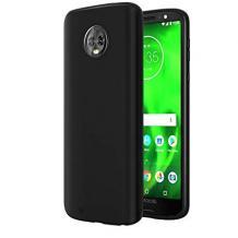 Силиконов калъф / гръб / TPU за Motorola Moto G6 - черен / мат