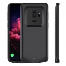Луксозен твърд гръб / външна батерия / Battery Power Bank XDL185 за Samsung Galaxy S9 Plus G965 - черен / 5200mAh
