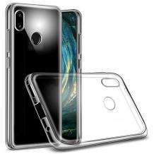 Ултра тънък силиконов калъф / гръб / TPU Ultra Thin за Motorola One - прозрачен
