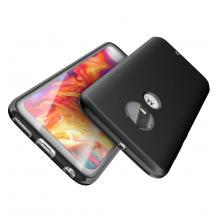 Силиконов калъф / гръб / TPU за Motorola Moto G7 Power - черен / мат