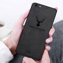 Луксозен гръб Deer за Apple iPhone 7 / iPhone 8 - черен