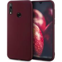 Силиконов калъф / гръб / TPU за Huawei P40 Lite E - бордо / мат