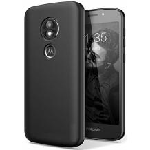Силиконов калъф / гръб / TPU за Motorola Moto E5 Play - черен / мат