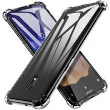 Удароустойчив ултра тънък силиконов калъф / гръб / TPU за Nokia 2.2 - прозрачен
