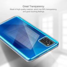 Комплект силиконов гръб със стъклен протектор за Huawei P40 Lite