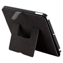 Кожен калъф за таблет Apple iPad 2, iPad 3, iPad 4 Commander - черен