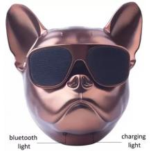 Тонколона Dog Head Bluetooth / Dog Head Bluetooth Wireless Stereo Speaker - бронзова