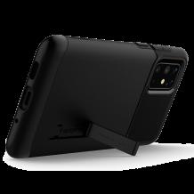 Оригинален гръб Spigen Slim Armor със стойка за Samsung Galaxy S20 Plus - черен