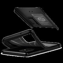 Оригинален гръб Spigen Slim Armor със стойка за Samsung Galaxy S20 - черен
