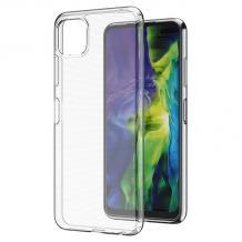 Силиконов калъф / гръб / TPU за Samsung Galaxy A22 5G - прозрачен