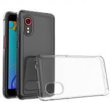 Силиконов калъф / гръб / TPU за Samsung Galaxy XCover 5 - прозрачен