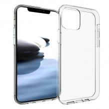Луксозен силиконов гръб за Motorola Moto G100 - прозрачен