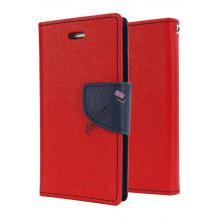 Калъф Flip тефтер Mercury GOOSPERY Fancy Diary със стойка за Lenovo Vibe Shot Z90 - червено и тъмно синьо