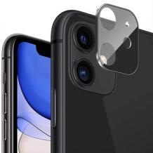 Стъклен протектор / 3D Tempered Glass Camera Lens / за задна камера на Huawei P40 lite - черен