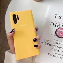 Оригинален гръб Silicone Cover за Samsung Galaxy Note 10 N970 - жълт