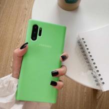 Оригинален гръб Silicone Cover за Samsung Galaxy Note 10 N970 - зелен