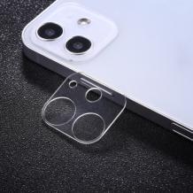 9D Camera Tempered Glass / Стъклен протектор за задна камера на Apple iPhone 12'' - прозрачен