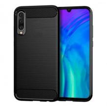Силиконов калъф / гръб / TPU за Xiaomi Mi 9 - черен / carbon