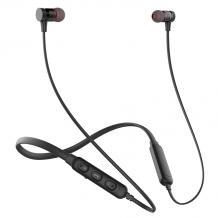 Стерео Bluetooth / Wireless Neckband слушалки AWEI G10BL /sport/ - черни