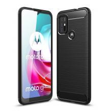 Силиконов калъф / гръб / TPU за Motorola Moto G30 - черен / carbon
