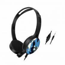 Геймърски слушалки GM-010 / Gaming Headset GM-010 - син камуфлаж