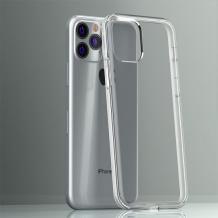 """Луксозен силиконов калъф / гръб / TPU 2.0mm за Apple iPhone 11 Pro 5.8"""" - прозрачен"""