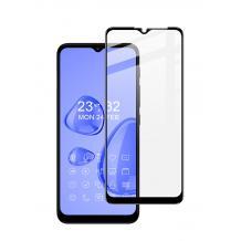 5D full cover Tempered glass Full Glue screen protector Motorola Moto G30 / Извит стъклен скрийн протектор с лепило от вътрешната страна за Motorola Moto G30 - черен