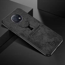 Луксозен гръб Deer за Xiaomi Redmi Note 9T 5G - черен