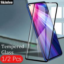 9D full cover Tempered glass Full Glue screen protector MOTOROLA MOTO G8 POWER / Извит стъклен скрийн протектор с лепило от вътрешната страна за MOTOROLA MOTO G8 POWER - черен