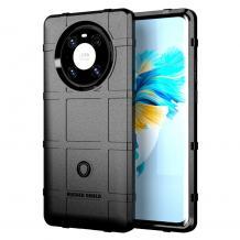 Удароустойчив калъф / гръб / Rugged Shield TPU Case за Huawei Mate 40 Pro - черен