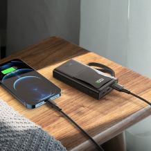 Универсална външна батерия HOCO Q4 Power Bank / LED Display / 10000mAh / Type-C / PD 20W+USB 33W / Universal HOCO Q4 Power Bank 10000mAh / Type-C / PD20W+USB 33W - черна