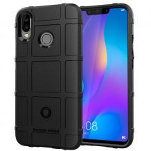 Оригинален силиконов калъф / гръб / Rugged Shield TPU Case за Motorola One Action - черен