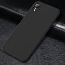Оригинален силиконов калъф / гръб / TPU X-LEVEL Guardian Series за Apple iPhone XS Max - черен / мат