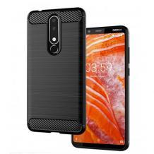 Силиконов калъф / гръб / TPU за Xiaomi Mi 9T - черен / carbon
