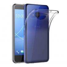 Ултра тънък силиконов калъф / гръб / TPU Ultra Thin за HTC U11 Life - прозрачен