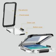 Водоустойчив калъф / Waterproof Heavy Duty Phone Case Cover за Samsung Galaxy S6 G920 - черен