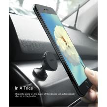 Луксозна универсална магнитна стойка за кола HOCO CA9 / HOCO Magnetic Car Phone Holder - графит
