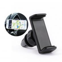 Универсална стойка за кола Air Vent за Samsung, Huawei, Apple, HTC, Alcatel, LG, Lenovo, Sony, Nokia, Moto и други - черна / въртяща се на 360 градуса