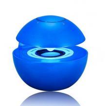 Bluetooth тонколона Led Ball / Bluetooth Led Ball Speaker - синя / топка