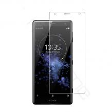 Стъклен скрийн протектор / Tempered Glass Screen Protector / за дисплей нa Sony Xperia XZ2 Compact