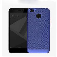 Луксозен твърд гръб за Xiaomi Redmi Note 5A - син / Grid