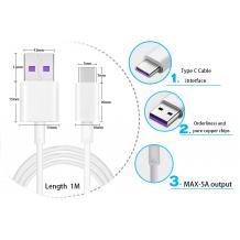 Оригинале USB кабел Super Charge Type-C 5A за Huawei P20 Lite / Mate 20 Pro / Mate 20 / P20 Pro