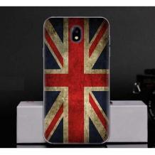 Силиконов калъф / гръб / TPU за Meizu M6 - Retro British Flag