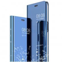 Луксозен калъф Clear View Cover с твърд гръб за Xiaomi Mi 9T - син